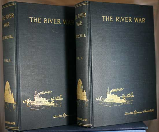 The River Was, a 2 Volume Set by Winston Churchill