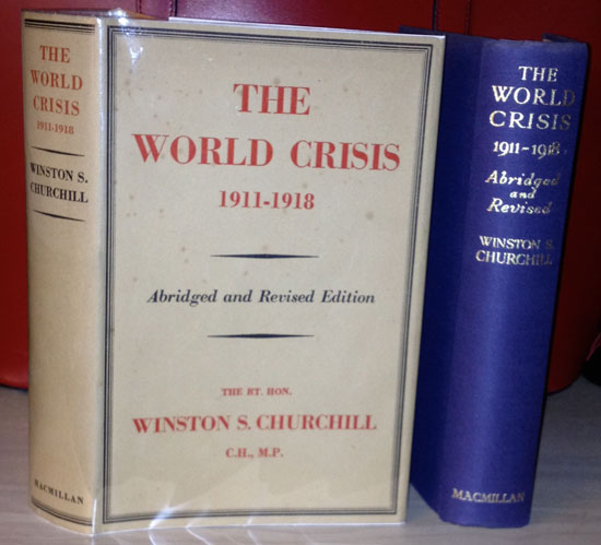 The World Crisis by Winston Churchill with Dust Jacket