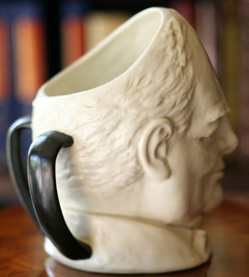 Royal Doulton 2-Handled Loving Cup featuring Winston Churchill
