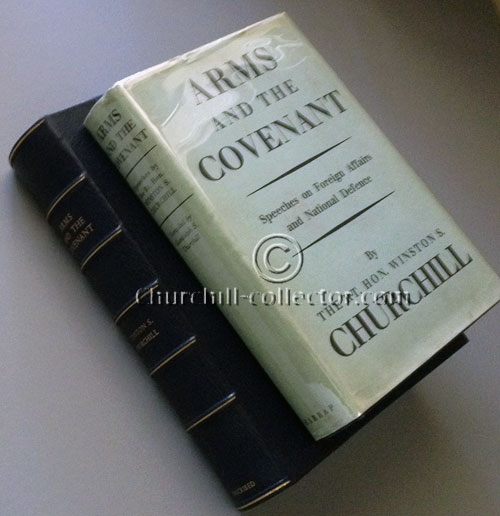 Arms and the Covenant book with book-like case