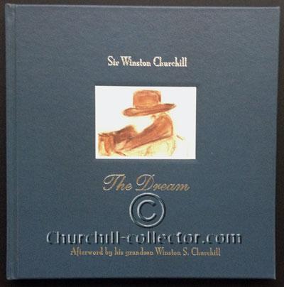 Levenger Press edition of Winston Churchill's book The Dream