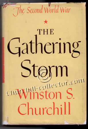 Churchill's book about WW2, the Gathering Storm