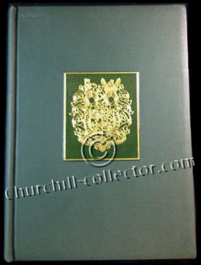 Winston Churchill Memorial Statue Appeal book of contributors