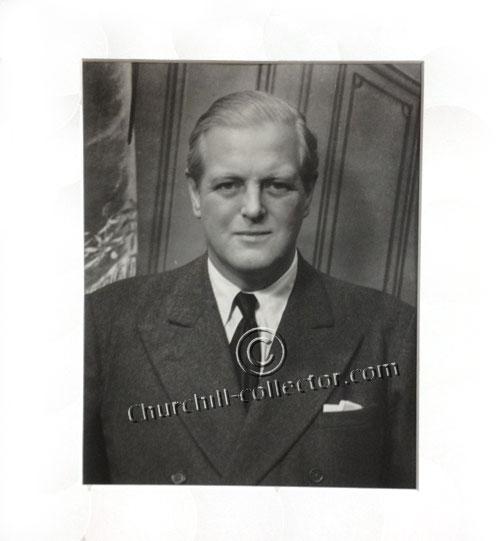 Photo of Winston Churchill's son - Randolph Churchill - by Cecil Beaton