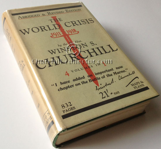 The World Crisis: book by Winston Churchill