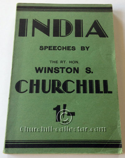 India, Speeches by Winston Churchill: soft green wraps