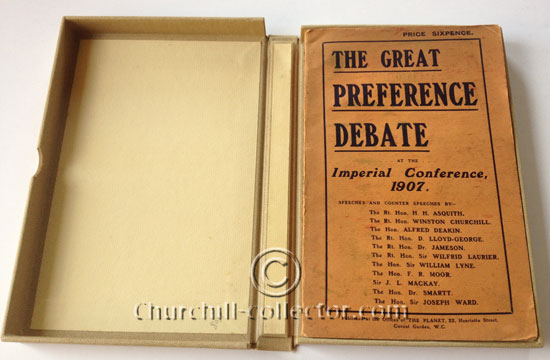 The book The Great Preference Debate at the Imperial Conference, 1907