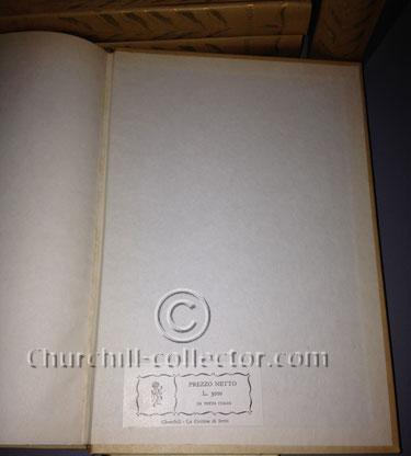 La Seconda Guerra Mondiale (12 Volumes) by Winston Churchill - price label