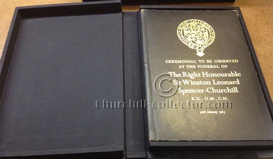 Sir Winston S. Churchill, Funeral Memorabilia: 30th January 1965