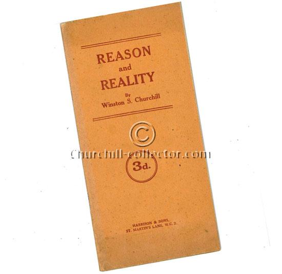 Winston Churchill's 1920 speech: Reason & Reality