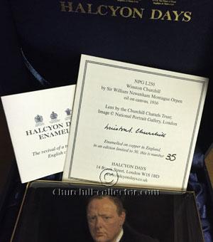 Halcyon days enamel box #35