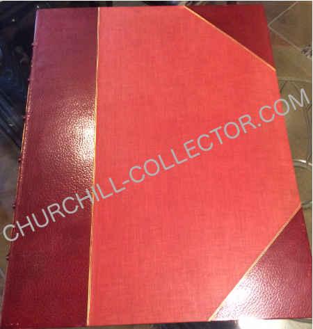 Handsome later red half-morocco, all edges gilt, spine gilt