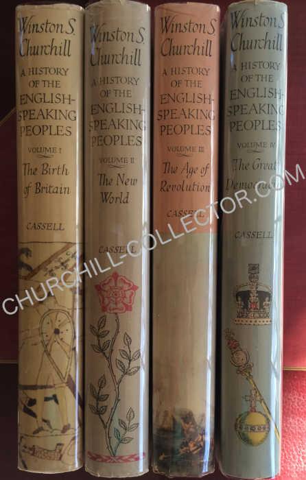 History English Speaking People 4vols