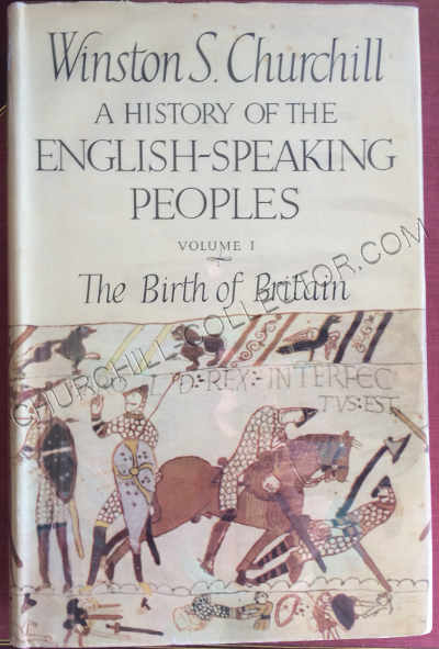 History English Speaking People vol1 with dust jacket