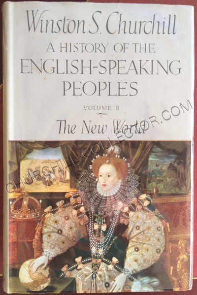 History English Speaking People vol11 with original dust jacket