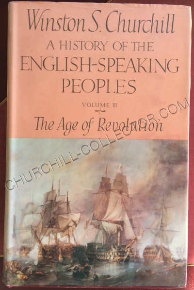 History English Speaking People vol111 with original dust jacket