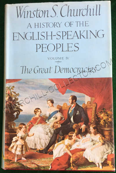 History English Speaking People vol1V with original dust jacket