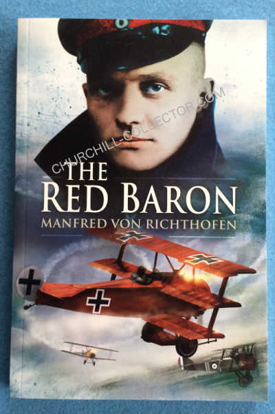 Autobiography of the Red Barron - paperback book