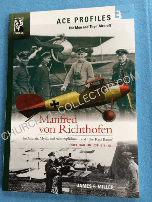 "a copy of book, The Aircraft, Myths and Accomplishments of ""The Red Baron"""
