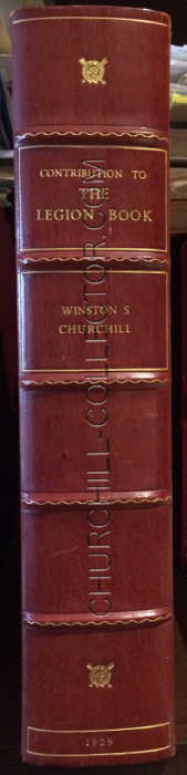 custom quarter red morocco book like clam-shell box with raised bands and gilt title on the spine