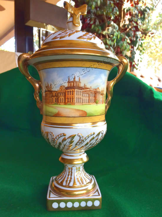 Coalport vase, one of 200 produced in 1974 to commemorate Churchill's birth