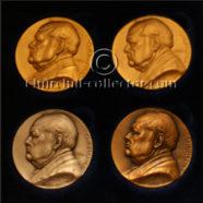 4 Churchill Medals – Memorial Issue 1965