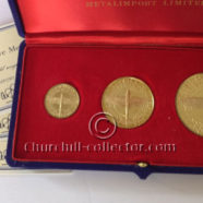 BATTLE OF BRITAIN COMMEMORATIVE MEDALS: 25th ANNIVERSARY. SET OF 3