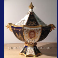 ABBEYDALE VASE, 1964 – WINSTON CHURCHILL HONORARY US CITIZENSHIP: CHURCHILLIANA