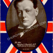 Churchill Postcard – Rare Vintage – MEN OF THE MOMENT