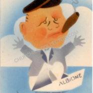 Churchill Vintage Postcard – Rare Italian