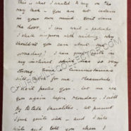 Letter from Winston Churchill to Muriel Wilson – Marriage Rejection