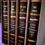 History Of The English-Speaking Peoples by Churchill in 4 vols