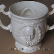 CHURCHILL, ROOSEVELT WHITE LOVING CUP, 1941: BURGESS & LEIGH – Churchilliana