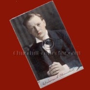 POSTCARD ~1905, WINSTON CHURCHILL – Early Color Postcard