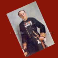 VINTAGE POSTCARD in COLOR: Winston L. Spencer Churchill, First-Lord of the Admiralty Uniform