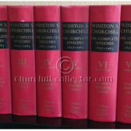 CHURCHILL: HIS COMPLETE SPEECHES, 1897 -1963.  First Edition