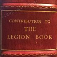 Legion Book 1929: with Churchill's Signature