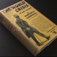THE WORLD CRISIS by WINSTON CHURCHILL: First Abridged Edn.