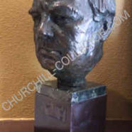 Churchill – Bronze Bust by Lawrence Ludtke