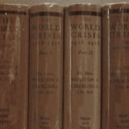 The World Crisis Vols. 1-VI: Signed by the Author Winston Churchill in 5 of 6 Volumes